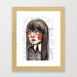 Chica Framed Art Print