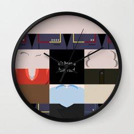 It's been a long road - square - Star Trek: Enterprise ENT - startrek Trektangle minimalist  Wall Clock