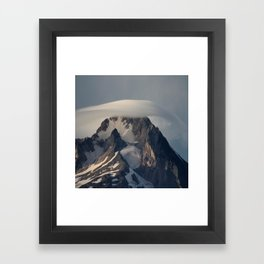 Hood With Cap Framed Art Print