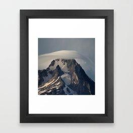 Hood With Cap Framed Art Print