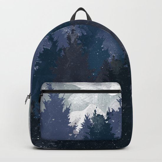 Winter i will never forget you Backpack