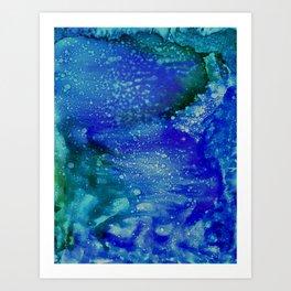 Aurora Galaxy Art Print