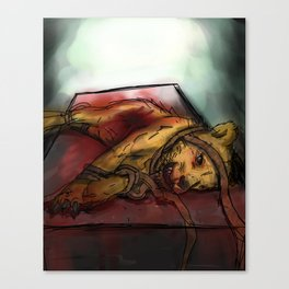The Death of Aslan Canvas Print
