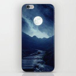 Walk to the Moon iPhone Skin