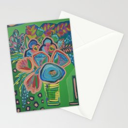 Green Means Go Stationery Cards