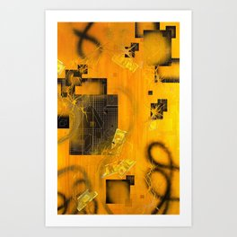 The Transmutation of Miss-Tere Art Print