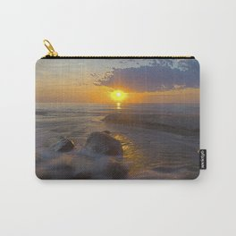 Hurricane Sunset Carry-All Pouch