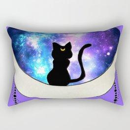 Moon Cat Rectangular Pillow