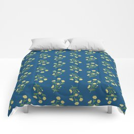Floral pattern #1 Comforters