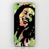 marley iPhone & iPod Skins featuring Marley by Katie Mont