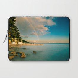 Rainbow in the gulf of Trieste Laptop Sleeve