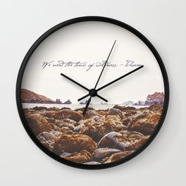 The Tonic Of Wildness Wall Clock