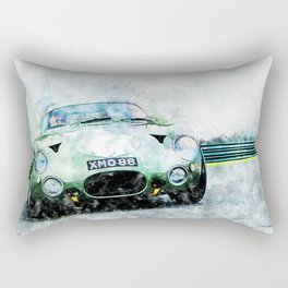 Aston DB4 GT, Zagato Rectangular Pillow