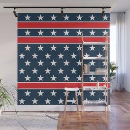 USA flag background. American design #society6 #decor #buyart #artprint Wall Mural