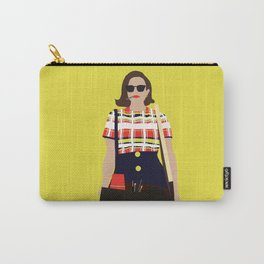 Peggy Olson Mad Men Carry-All Pouch