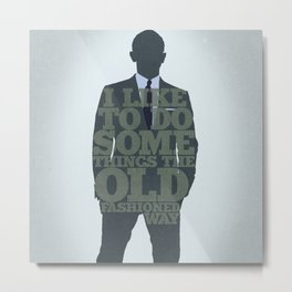 Skyfall - James Bond: The Old Fashioned Way Metal Print