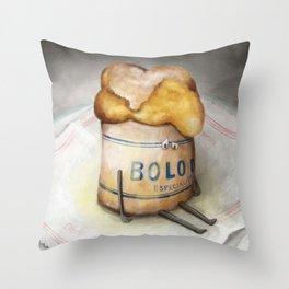 Bolo de Arroz - The Loner Throw Pillow