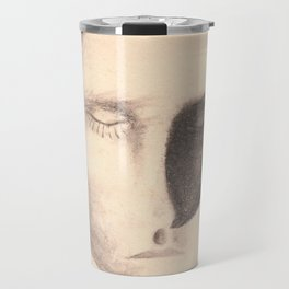 Shadow man Travel Mug