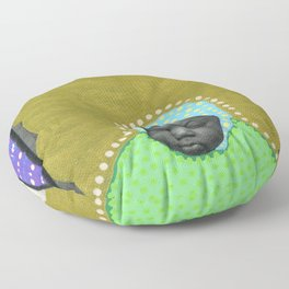 Acquiring Superpowers Floor Pillow