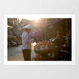 Vietnam Streets Art Print