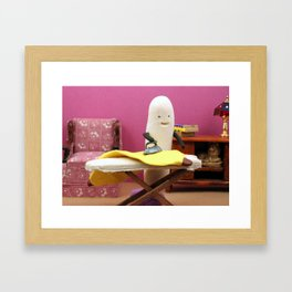 Fruit Chores Framed Art Print