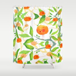 Mandariny Shower Curtain