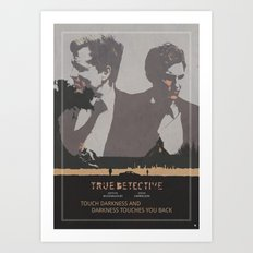 Poster True Detective 2 Art Print