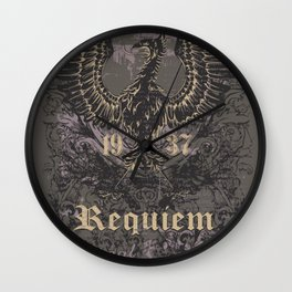 Griffin and Grunges Wall Clock