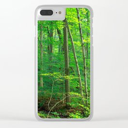 Forest 7 Clear iPhone Case