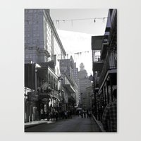 new orleans Canvas Prints featuring New Orleans  by DeniseValencia
