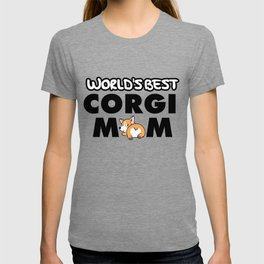 World's Best Corgi Mom - Women, Girls T-shirt