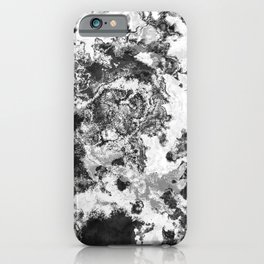 Winter - Study In Black And White iPhone Case
