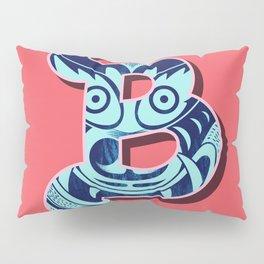 B letter Pillow Sham