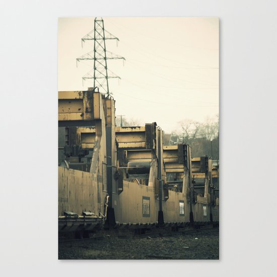 Chain Gang Canvas Print