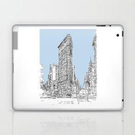 The Flat Iron Laptop & iPad Skin