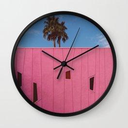 Palm Springs Vibes III Wall Clock