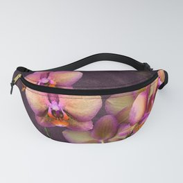 Sunrise Tropical Orchids Fanny Pack
