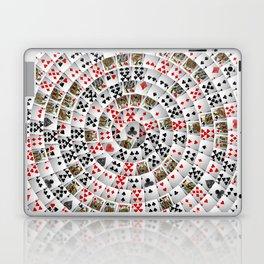 Playing cards swirl Laptop & iPad Skin