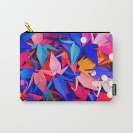Senbazuru | pink and blues Carry-All Pouch