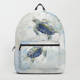Swimming Together 2 - Sea Turtle  Backpack