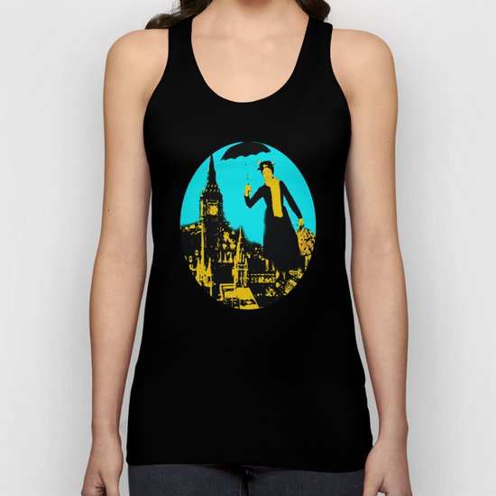 Mary in the City  Unisex Tank Top