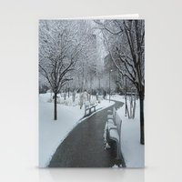pittsburgh Stationery Cards featuring PITTSBURGH PARK by Stephanie Bosworth
