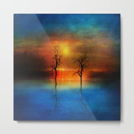 waterfall of light Metal Print
