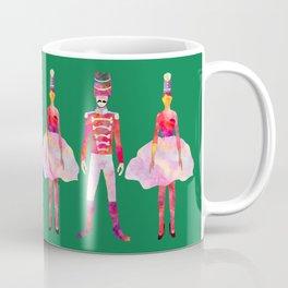Nutcracker Ballet - Candy Cane Green Coffee Mug