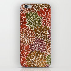 Floral Abstract 31 iPhone Skin