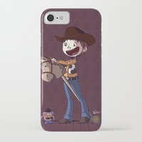 toy story iPhone & iPod Cases featuring Woody Toy Story by Kaori