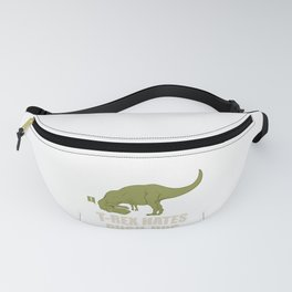 Funny Fitness - T-Rex Hate Push Ups - Gym Fanny Pack