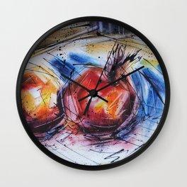 Grenades Wall Clock