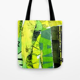 BLISSFUL GREEN Tote Bag