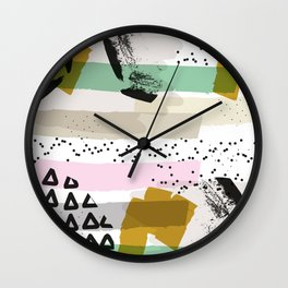 A celebration! Wall Clock